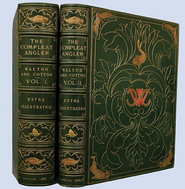 old cover The Compleat Angler